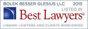 2015 Best Lawyers in America Badge