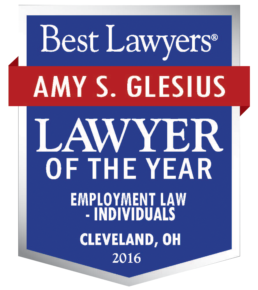Best Lawyers Amy Glesius Lawyer of the Year Badge