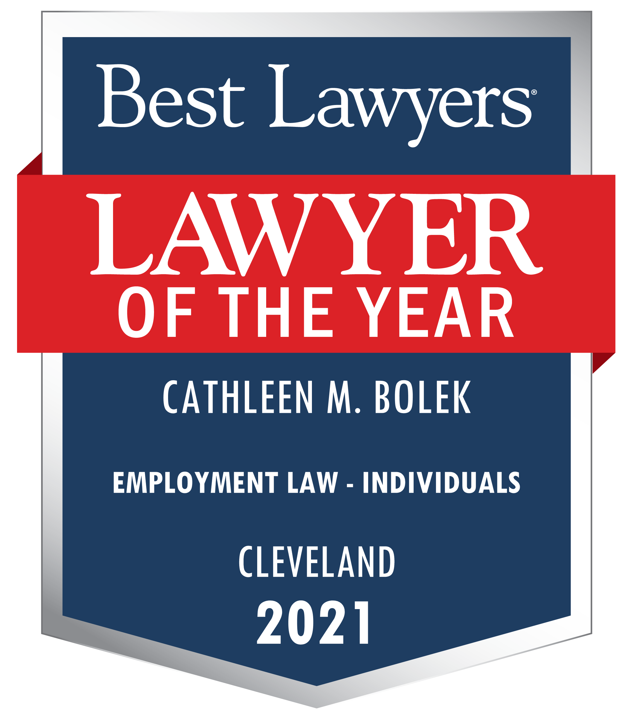 Best Lawyers Cathleen M. Bolek Lawyer of the Year 2021